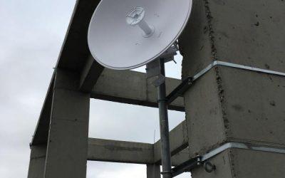 Warszawa link radiowy 12km 200Mbit